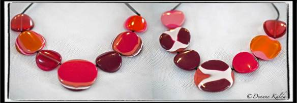 Ruby Olive necklace