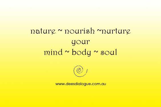 nature nourish nurture