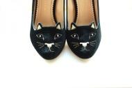 Charlotte Olympia cat heel